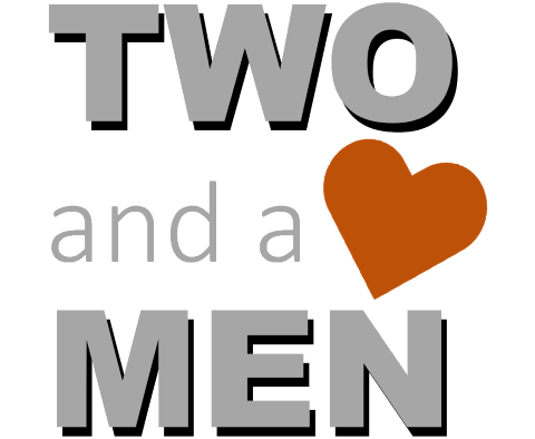 Logo von Two and a Heart Men, Trauredner · Theologen Heilbronn