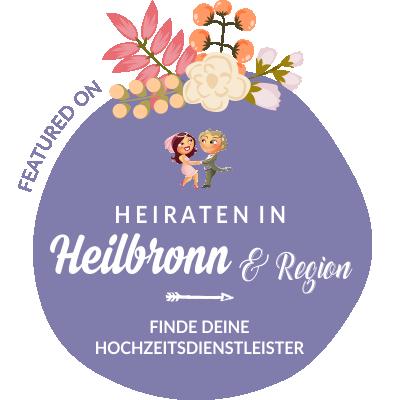 Featured auf Hochzeit & Heiraten in Heilbronn, Baden-Württemberg